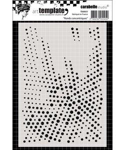 Carabelle Stencil 11 x15 cm Round Concentric