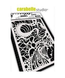 Carabelle Stencil 10,5x14,8cm Venetiaans Masker