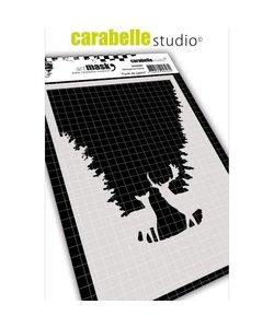 Carabelle stencil 10,5x14,8cm Herten