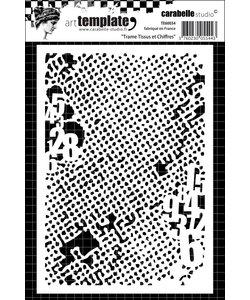 Carabelle Stencil 10,5 x14 cm Fabric & Figures