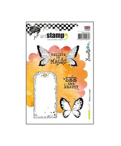 Carabelle cling stamp believe in magic