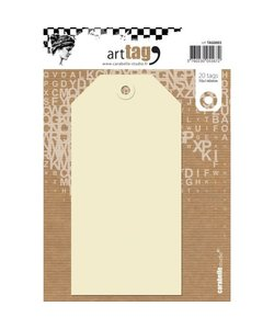 Carabelle art Tag 70x140mm 20st