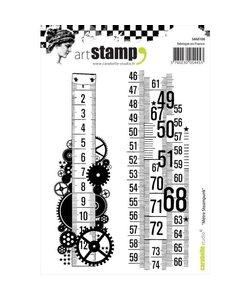 Carabelle art stamp Metre steampunk