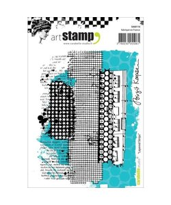 Carabelle art stamp layered strips
