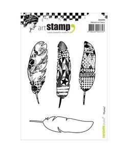 Carabelle art stamp A6 Plumes - veren