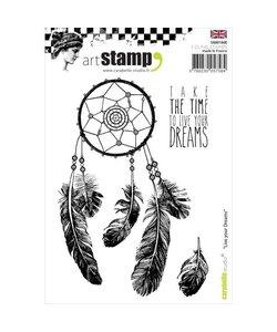 Carabelle art stamp A6 Live your dream - dromenvanger