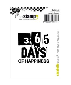 Carabelle art stamp 365 days happiness