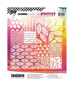 Carabelle art printing A6 patchwork ca. 16,5 x 16,5 cm.