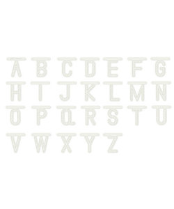 Dutch Doobadoo Snij Stencil Alfabet h:8cm