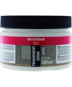 Amsterdam Gesso 250ml Transparent