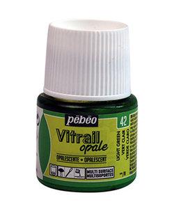 Pebeo Vitrail Glasverf Opale 45ml Light Green nr. 42