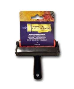 Gel Press Hard Rubber Brayer 10,16cm