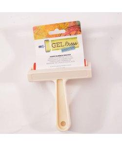 Gel Press Hard Rubber Brayer White 10,16cm