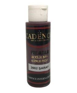 Cadence Premium Acrylverf Semi Mat 70ml Wijn Rood