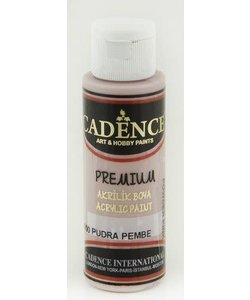 Cadence Premium Acrylverf Semi Mat 70ml Poeder Roze