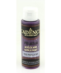 Cadence Premium Acrylverf Semi Mat 70ml Aubergine