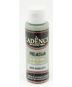 Cadence Premium Acrylverf Semi Mat 70ml Salie Groen