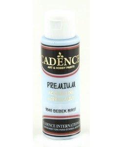 Cadence Premium Acrylverf Semi Mat 70ml Baby Blauw