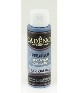 Cadence Premium Acrylverf Semi Mat 70ml Grijs Blauw