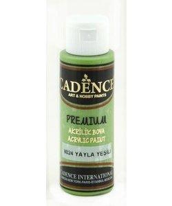 Cadence Premium Acrylverf Semi Mat 70ml Plateau Groen