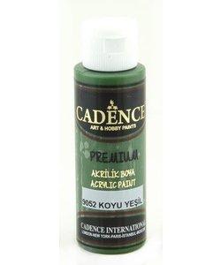 Cadence Premium Acrylverf Semi Mat 70ml Donker Groen