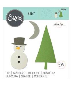 Sizzix Bigz Die Olivia Rose  Snow Scene