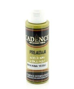 Cadence Premium Acrylverf Semi Mat 70ml Henna Groen