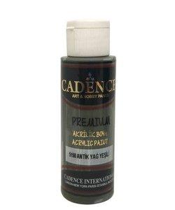 Cadence Premium Acrylverf Semi Mat 70ml Antiek Groen