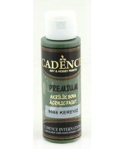 Cadence Premium Acrylverf Semi Mat 70ml Selderij Groen