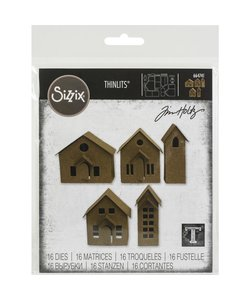 Sizzix Tim Holtz Thinlits Dies Paper Village