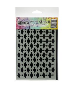 """Ranger Dylusions Stencil (small) Court Jester 5""""X8"""""""