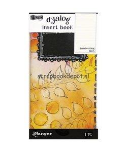 Ranger Dylusions Dyalog Insert Books Handwriting