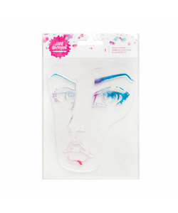 Jane Davenport Acrylic Stamp 1 Face
