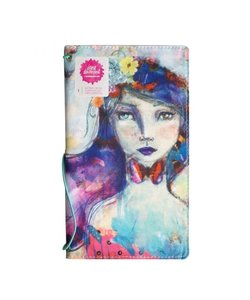 Jane Davenport Butterfly Book Printed Girl