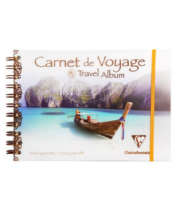 Clairefontaine Travel Blok 30st 180g