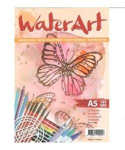 Kippers WaterArt Aquarel Papier A5 185g