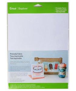 Cricut Printable Fabric 8,5 x 11 inch., 2 pcs