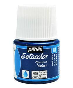 Pebeo Setacolor Textielverf Opaque 45ml Blue Jean nr. 84