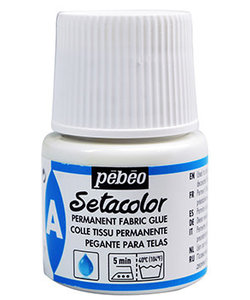 Pebeo Setacolor Permanent Fabric Glue 45ml