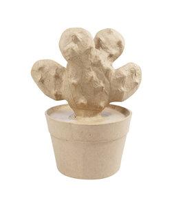Decopatch Papier Mache Cactus Racket 9,5x13x16,5 cm