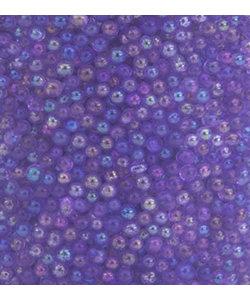 Glaskorrels Mini Parels  0,8-1 mm Regenboog Paars 22 gram
