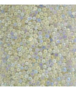 Glaskorrels Mini Parels  0,8-1 mm Wit 22 gram