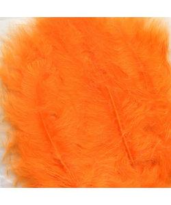 Veren Marabou Oranje 8,5-12,5cm 15st