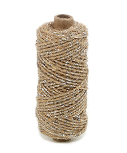 Flaxcord Deluxe Silver 2mmx50m
