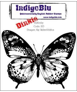 IndigoBlu Stempel Rubber Flutterby A7