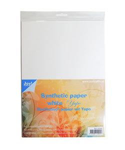 Joy Yupo Papier / Synthetisch Papier Wit  A4 5 vellen