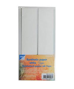 Joy Yupo Papier / Synthetisch Papier Wit  21x4,7cm 20 vellen