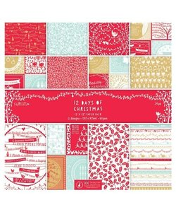 Papermania paperpack 12x12 12 Days of Christmas