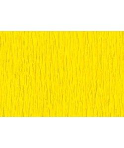 Folia Crepe Papier Geel 50x250cm