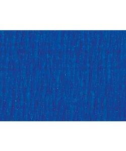 Folia Crepe Papier Blauw 50x250cm